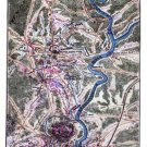 Battle of Chancellorsville Virginia 1863 II Civil War map by Sneden