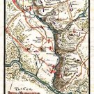 Battle Plan of Beaver Dam Creek or Mechanicsville Virginia 1862 Civil War map by Sneden