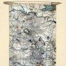 Defenses of Richmond Fredericksburg Wilderness Battle Virginia 1864 Civil War map by Sneden