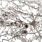 Gettysburg Battle Third Day Position of Troops Pennsylvania 1863 Civil War map by Sneden