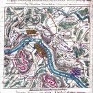Mud March Hooker Franklin Sumner Virginia 1863 Civil War map by Sneden