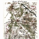 Plan Battle Fair Oaks or Seven Pines Virginia 1862 Civil War map by Sneden