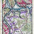 Plan of the Glendale Battle or Frasier's Farm 1862 Civil War map by Sneden