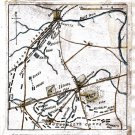 Position of Both Armies Virginia 1862 Civil War map by Sneden
