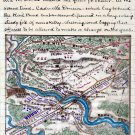 Position of Union and Rebel Forces October 1863 Civil War map by Sneden
