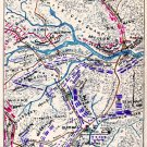 Position of Union Army Virginia 1862 Civil War map by Sneden