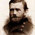 General Ulysses S. Grant portrait Civil War art drawing print 1865 by Staudenbaur