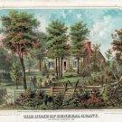 General Ulysses S. Grant home St. Louis County Missouri Civil War art print by Knirsch