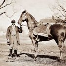 General Ulysses S. Grant Horse Cincinati Civil War photo by Matthew Brady art print