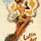 Latin Quarter Night Club New York canvas art print