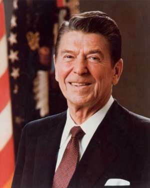 President Ronald Reagan photo photograph art print