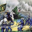 Battle of Seven Pines or Fair Oaks Station Virginia 1862 Civil War art print I