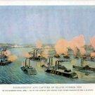 Naval Battle Siege Bombardment Capture of Island canvas art print