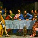 The Last Supper Christian Apostles Canvas art print by De Champaigne