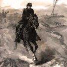 General Phil Sheridan's Ride to the Front 1864 Civil War art print