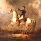 General Winfield Scott 1848 man portrait canvas art print by Charles Saint-Priest
