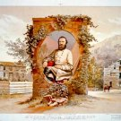 General Stonewall Jackson boyhood home West Fork River Lewis County West Virginia art print