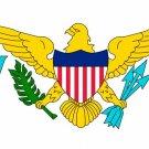 US Virgin Islands Flag art print