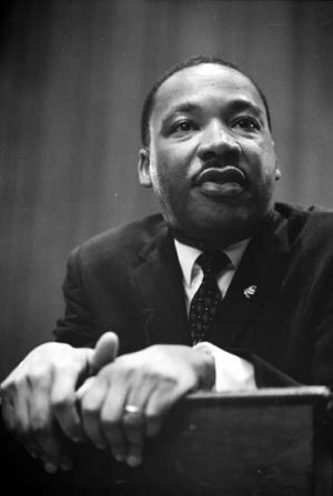 Martin Luther King Jr Civil Rights portrait photo photograph art print