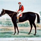 Kingston 21891 horse equestrian canvas art print by Currier & Ives