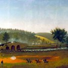 A Crucial Delay Battle of Antietam Civil War canvas art print by Captain James Hope