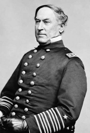 Admiral David Farragut portrait Civil War photo photograph by Matthew Brady