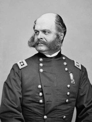 General Ambrose Burnside portrait Civil War photo photograph art print