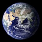 Earth from Space Eastern Hemisphere satellite photo photograph art Print