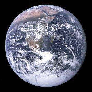 Earth Seen from Apollo 17 photo photograph art Print