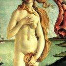 Birth of Venus Detail woman canvas art print by Sandro Botticelli