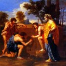 The Arcadian Shepherds 1638 Les Bergers d'Arcadie Et in Arcadia Ego canvas art print by Poussin