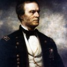 General William Tecumseh Sherman 1875 portrait Civil War canvas art print by Daniel Huntington