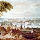 City of Washington from beyond the Navy Yard canvas art print by W.J. Bennett