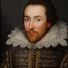 William Shakespeare portrait Cobbe man portrait canvas art print