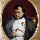 Napoleon Bonaparte at Fontainebleau portrait man canvas art print by Paul Hippolyte Delaroche