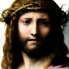 Head of Christ Christian Biblical canvas art print Correggio 19.5 x 24