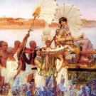 The Finding of Moses Christian bible canvas art print by Alma Tadema