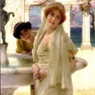 A Difference of Opinion 1896 women victorian canvas art print by Lawrence Alma Tadema