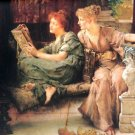 Comparisons 1892 Victorian women canvas art print by Lawrence Alma Tadema