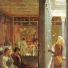 Egyptian Juggler 1870 Victorian people canvas art print by Lawrence Alma Tadema