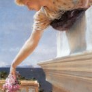 God Speed 1893 Victorian woman canvas art print by Lawrence Alma Tadema