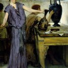 Pottery Painting 1871 Victorian canvas art print by Lawrence Alma Tadema