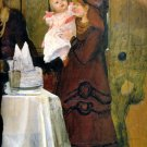 The Epps Family Screen 1870 Victorian canvas art print by Lawrence Alma Tadema