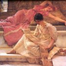 The Favourite Poet 1888 Victorian canvas art print by Lawrence Alma Tadema