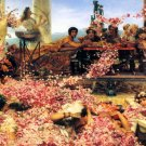 The Roses of Heliogabalus 1888 Victorian canvas art print by Lawrence Alma Tadema