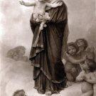 Notre-Dame des Anges Christian bible canvas art print by Bouguereau