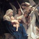 La Vierge aux Anges Virgin of the Angels canvas art print Bouguereau