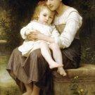 La soeur aînée Big sis' 1886 Child canvas art print by William Adolphe Bouguereau