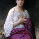 Psyché 1892 Psyche girl canvas art print by William Adolphe Bouguereau