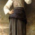 Jeune Fille Allant à la Fontaine 1885 canvas art print by William Adolphe Bouguereau